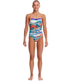 Funkita Strapped In Traje Baño Una Pieza Niñas, Multicolor